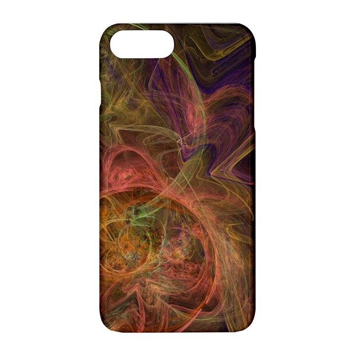 Abstract Colorful Art Design Apple iPhone 8 Plus Hardshell Case