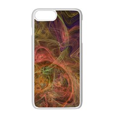 Abstract Colorful Art Design Apple Iphone 8 Plus Seamless Case (white)