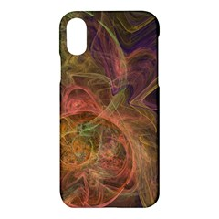 Abstract Colorful Art Design Apple Iphone X Hardshell Case