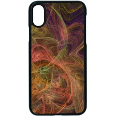Abstract Colorful Art Design Apple Iphone X Seamless Case (black)