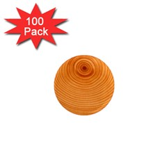 Rings Wood Line 1  Mini Magnets (100 Pack)