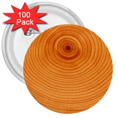 Rings Wood Line 3  Buttons (100 Pack)  by Alisyart