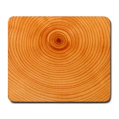 Rings Wood Line Large Mousepads