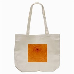 Rings Wood Line Tote Bag (cream) by Alisyart