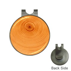 Rings Wood Line Hat Clips With Golf Markers