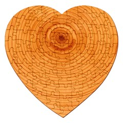Rings Wood Line Jigsaw Puzzle (heart)