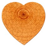 Rings Wood Line Jigsaw Puzzle (Heart) Front