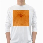 Rings Wood Line Long Sleeve T-Shirt Front