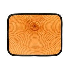 Rings Wood Line Netbook Case (small) by Alisyart
