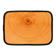 Rings Wood Line Netbook Case (medium) by Alisyart
