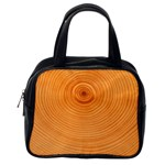Rings Wood Line Classic Handbag (One Side) Front