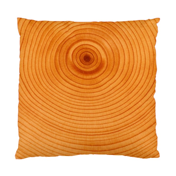 Rings Wood Line Standard Cushion Case (Two Sides)