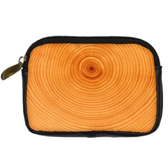 Rings Wood Line Digital Camera Leather Case by Alisyart