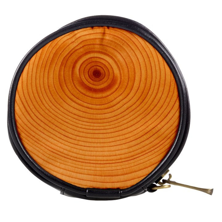 Rings Wood Line Mini Makeup Bag