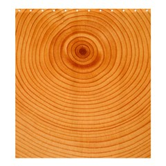 Rings Wood Line Shower Curtain 66  X 72  (large)