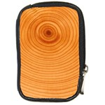 Rings Wood Line Compact Camera Leather Case Front