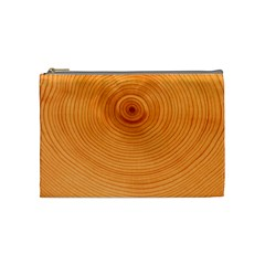 Rings Wood Line Cosmetic Bag (medium) by Alisyart