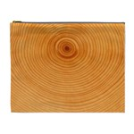 Rings Wood Line Cosmetic Bag (XL) Front