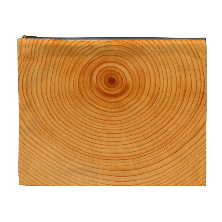 Rings Wood Line Cosmetic Bag (XL)