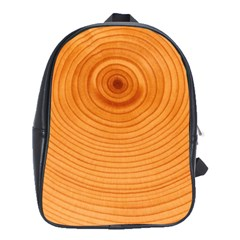 Rings Wood Line School Bag (large)