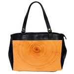 Rings Wood Line Oversize Office Handbag (2 Sides) Front