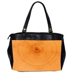 Rings Wood Line Oversize Office Handbag (2 Sides) Back