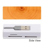 Rings Wood Line Memory Card Reader (Stick) Front