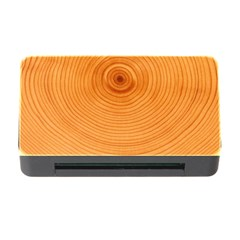 Rings Wood Line Memory Card Reader With Cf