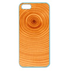 Rings Wood Line Apple Seamless Iphone 5 Case (color)
