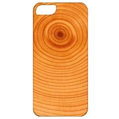 Rings Wood Line Apple Iphone 5 Classic Hardshell Case