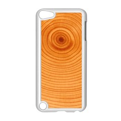Rings Wood Line Apple Ipod Touch 5 Case (white)