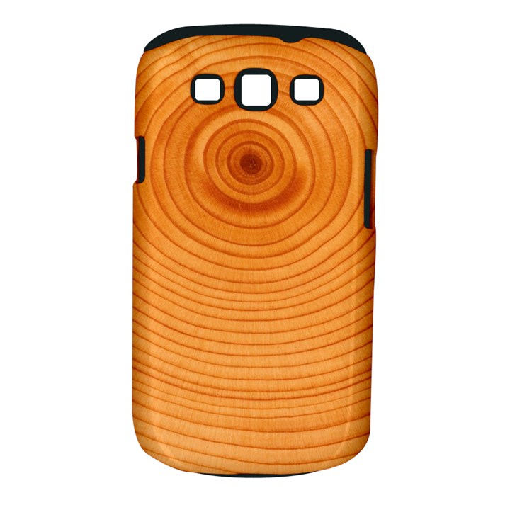 Rings Wood Line Samsung Galaxy S III Classic Hardshell Case (PC+Silicone)