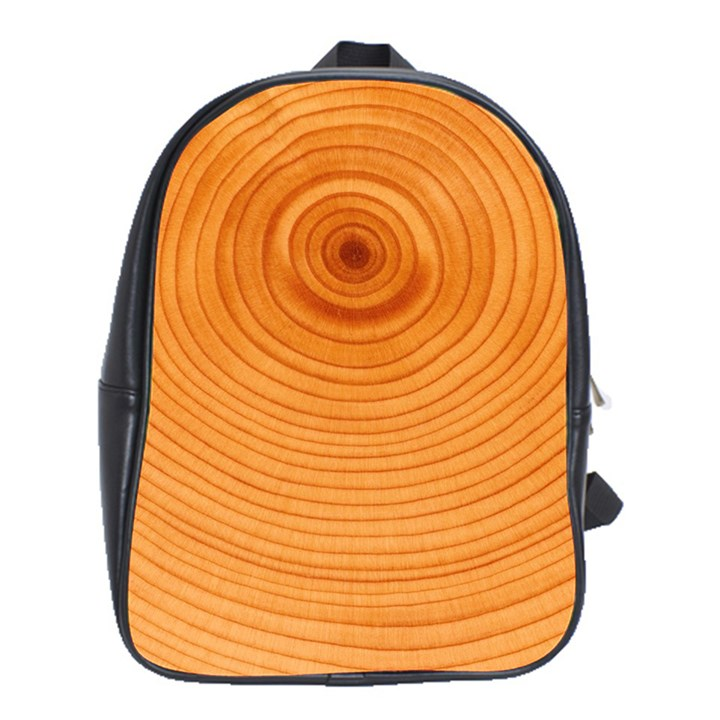 Rings Wood Line School Bag (XL)