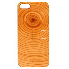 Rings Wood Line Apple Iphone 5 Hardshell Case With Stand