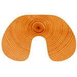 Rings Wood Line Travel Neck Pillows Front