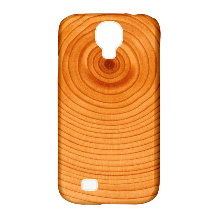 Rings Wood Line Samsung Galaxy S4 Classic Hardshell Case (PC+Silicone)
