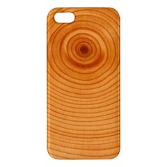 Rings Wood Line Iphone 5s/ Se Premium Hardshell Case