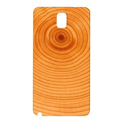 Rings Wood Line Samsung Galaxy Note 3 N9005 Hardshell Back Case by Alisyart