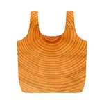 Rings Wood Line Full Print Recycle Bag (M) Front