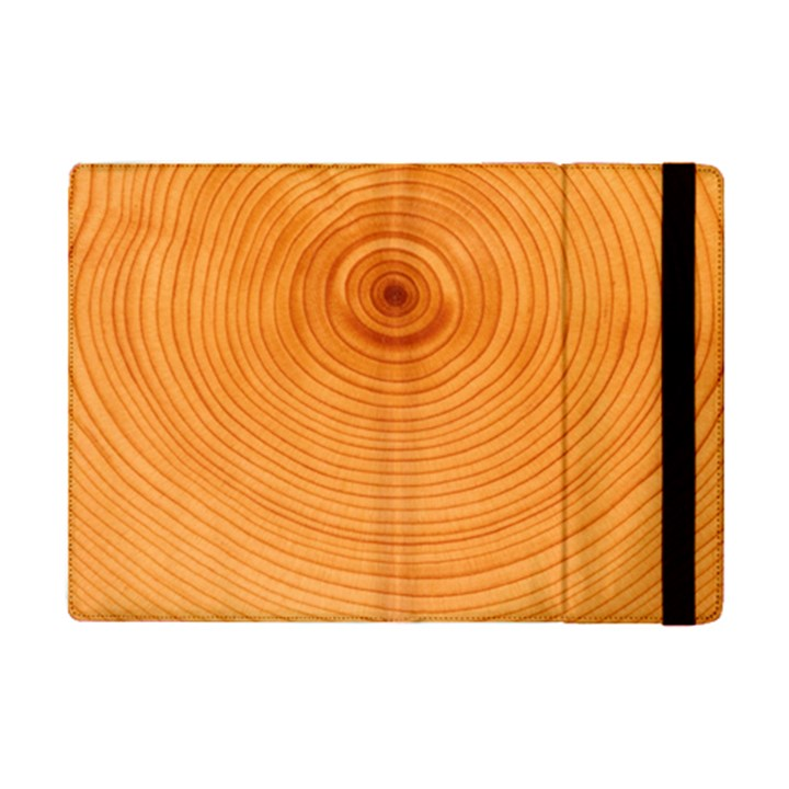 Rings Wood Line iPad Mini 2 Flip Cases
