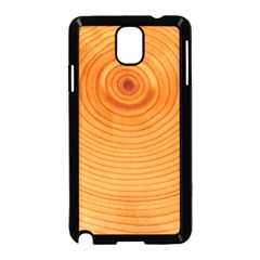 Rings Wood Line Samsung Galaxy Note 3 Neo Hardshell Case (black)