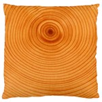 Rings Wood Line Standard Flano Cushion Case (One Side) Front