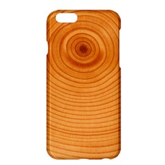 Rings Wood Line Apple Iphone 6 Plus/6s Plus Hardshell Case