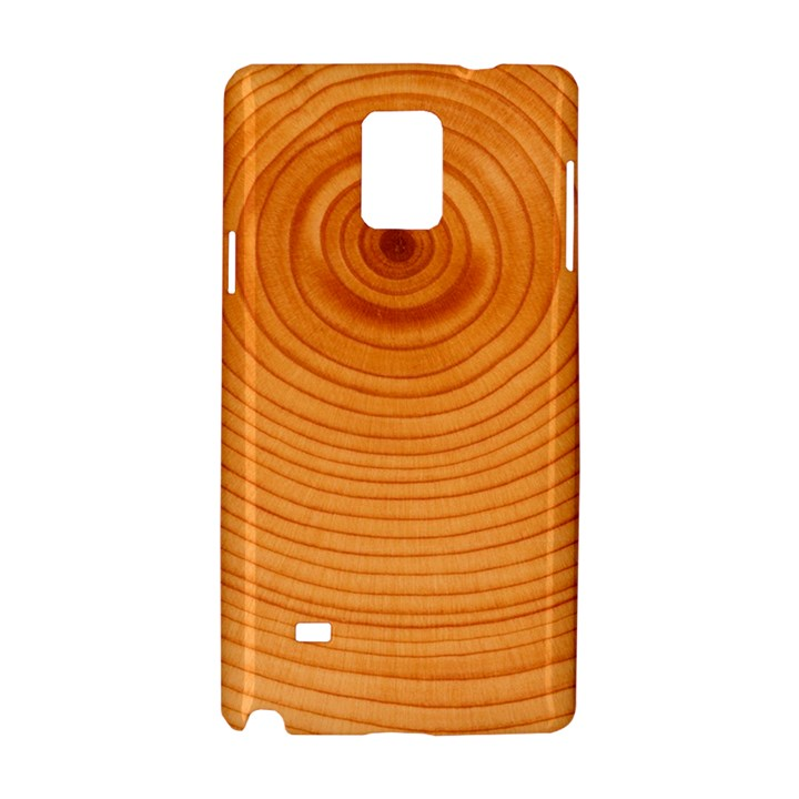 Rings Wood Line Samsung Galaxy Note 4 Hardshell Case
