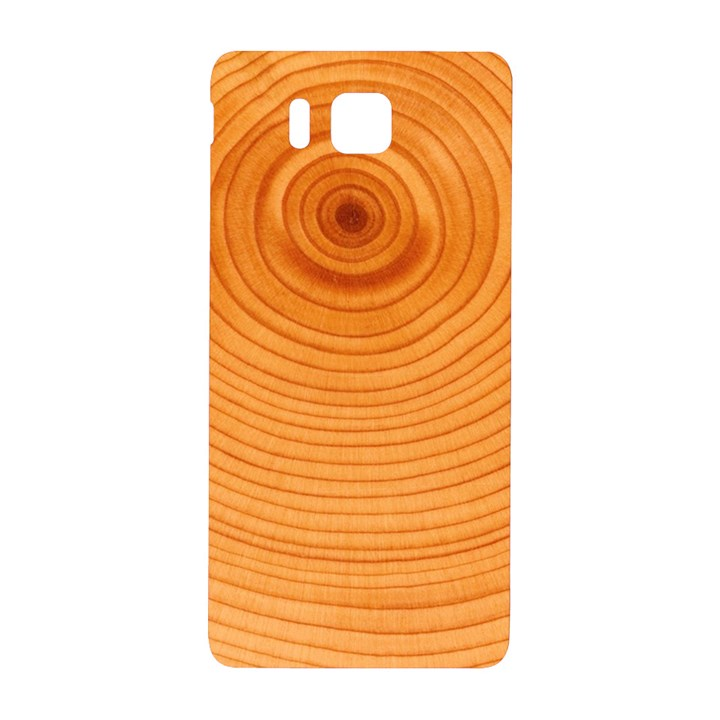 Rings Wood Line Samsung Galaxy Alpha Hardshell Back Case