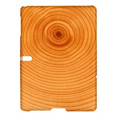 Rings Wood Line Samsung Galaxy Tab S (10 5 ) Hardshell Case