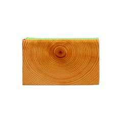 Rings Wood Line Cosmetic Bag (xs) by Alisyart