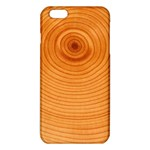 Rings Wood Line iPhone 6 Plus/6S Plus TPU Case Front