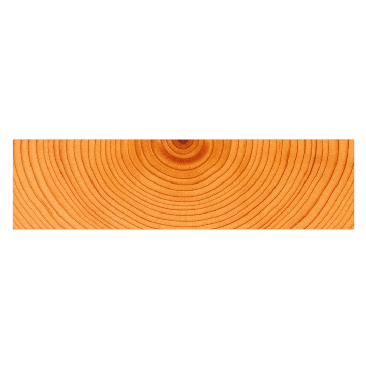 Rings Wood Line Satin Scarf (Oblong)