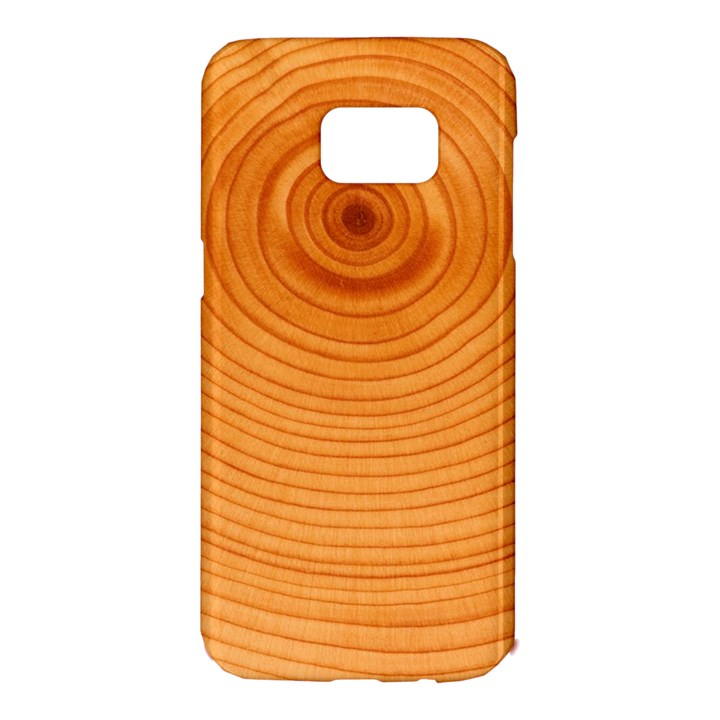 Rings Wood Line Samsung Galaxy S7 Edge Hardshell Case